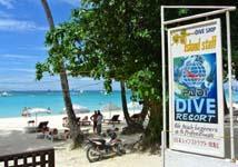 ボラカイ島ダイビングツアー