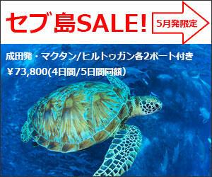 【セブ島/ダイビング】関空発 LCCで行くセブ島 2ボート付きが特価5万円台より!!