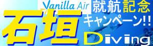 成田空港発バニラエア就航記念SALE★透明度抜群の海へ♪「格安!石垣ダイビングツアー」