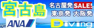 美ら島♪宮古島ANAバーゲン★名古屋発・東京発・大阪発!