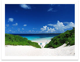 宮古島砂浜