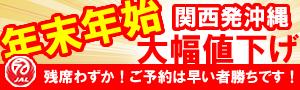 ★年末年始大特価セール★関西発沖縄ダイビングツアー