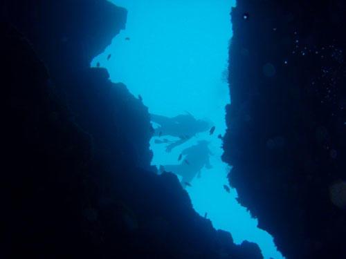真栄田岬ダイビングポイント